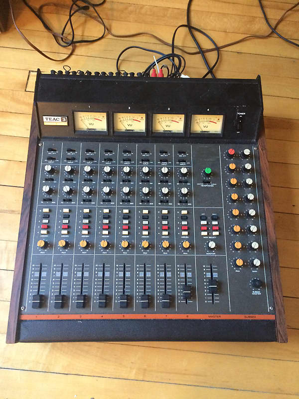 TEAC Model 3 1969 8 channel Mixer   patrick's Gear Outlet