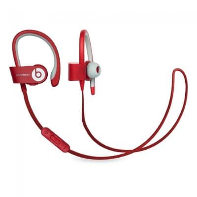 Beats by Dr. Dre Powerbeats2 Wireless Headphones - Red