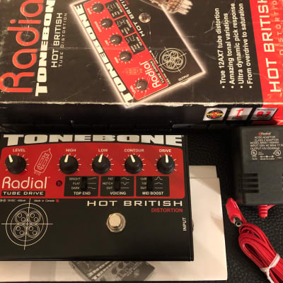 Radial ToneBone Hot British Distortion pedal (in box)
