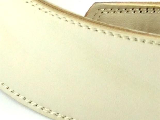2 5 bone white leather guitar strap reverb. Black Bedroom Furniture Sets. Home Design Ideas