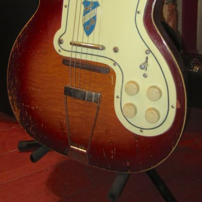 Vintage 1950's Kay Silvertone Jimmy Reed Thin Twin for sale
