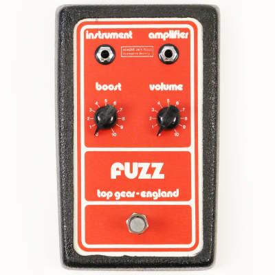 1978 Top Gear Fuzz Pedal - Rare Top Gear of England Fuzz, Like Fuzz Face! image