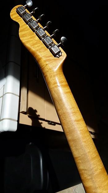 Vintage 1968 Fender Telecaster Neck Maple Cap Jimi Hendrix Reverb