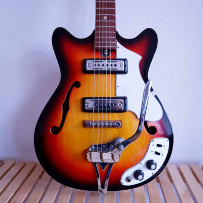 Cameo Rare Japanese Semi-hollow Guitar 70's for sale