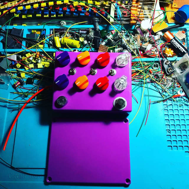 Built by Ryan Noise swash 💤 fuzzy filter feedback self oscillating party 2018 Purple powder 💥 image