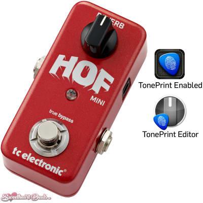 TC Electronic Hall Of Fame HOF Mini Reverb Guitar Effect Pedal