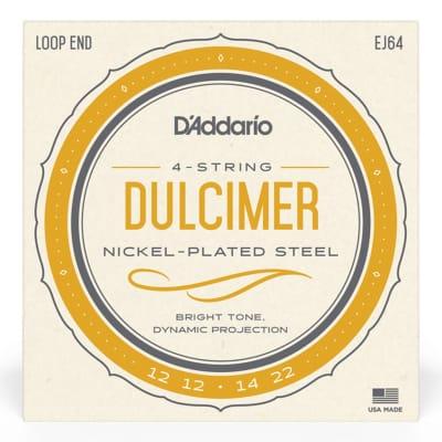 D'Addario EJ64 4-String Dulcimer Strings 12-22
