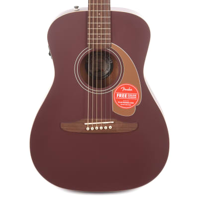 Fender Malibu Player Acoustic Burgundy Satin