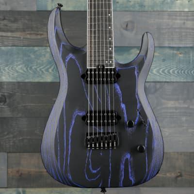 Jackson Pro Series Dinky™ DK Modern Ash HT7, Ebony Fingerboard, Baked Blue for sale