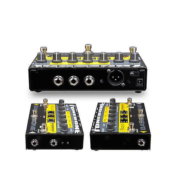 radial bassbone v2 bass guitar preamp and di box w power reverb. Black Bedroom Furniture Sets. Home Design Ideas