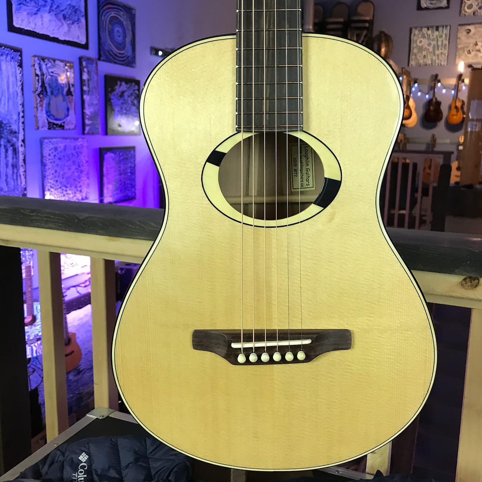 Laughlin RRL Ltd Edition PACIFIC DOGWOOD Very Small Body Parlor Guitar