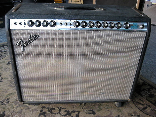 Dating A Fender Silverface Twin Reverb