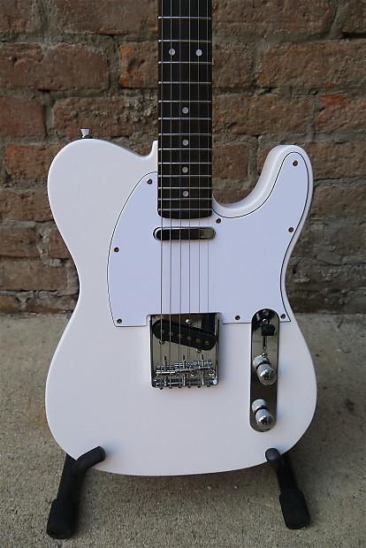Progressive Near Me >> Haywire Custom Guitars T-Style Tele White | Reverb