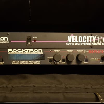 Rocktron Velocity 100  Rack Guitar Power Amp for sale