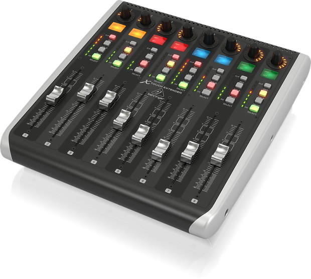 Behringer X Touch Extender With Motor Faders Reverb