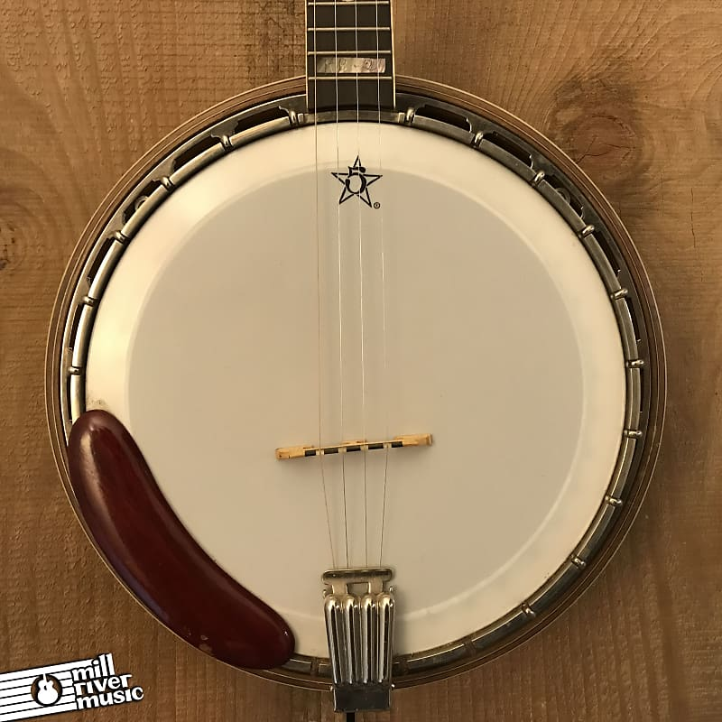 Bob Rock RB-2 Custom 4-String Resonator Banjo c. 1993