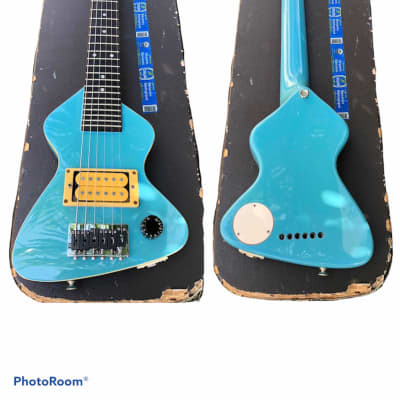 Hondo Erlewine Chiquita  Spinal Tap 1980 Blue Miami for sale
