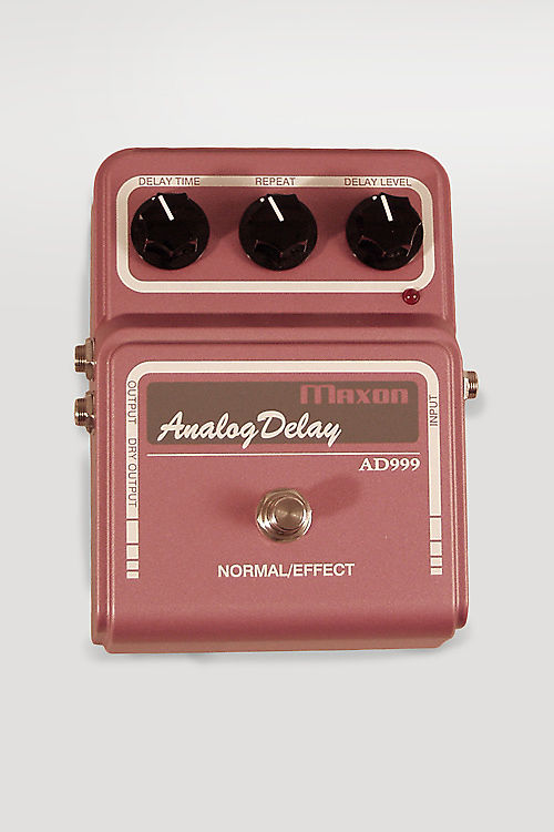 Maxon  AD999 Analog Delay Effect,  c. 2011.