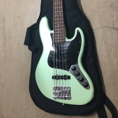 Fender Deluxe Active Jazz Bass V String - Pau Ferro Fingerboard - Surf Pearl for sale