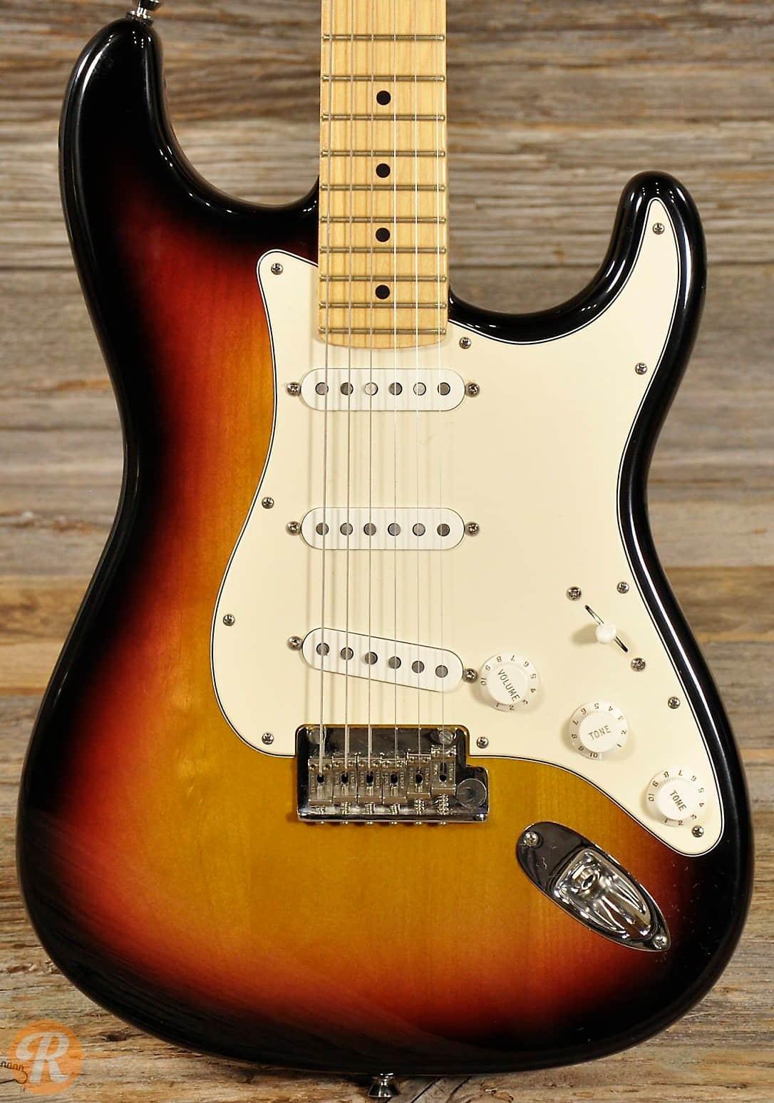 Fender American Standard Stratocaster 2009 Sunburst Price