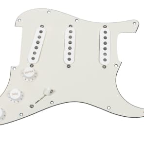 920D Custom Shop 334-15-10 Klein S-5 Scooped Midrange Loaded Strat Pickguard w/ 7-Way Switching