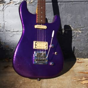 Strings & Things St. Blues  Eliminator II 1985 Purple Sparkle.   Special.  RARE. for sale