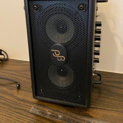 """Phil Jones BG75-BLK Bass Double Four 70-Watt 2x4"""" Micro Bass Combo"""