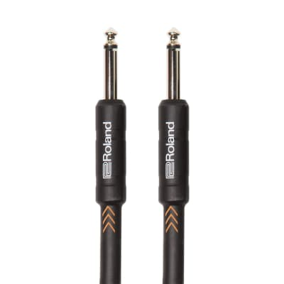 Roland RIC-B15 Black Series Instrument Cable with Straight - 15ft