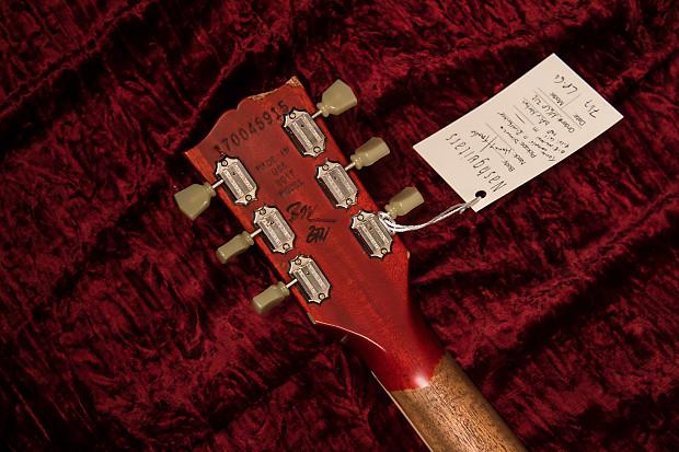 Nash Guitars Gibson Les Paul Honey Tangerine Electric Guitar on