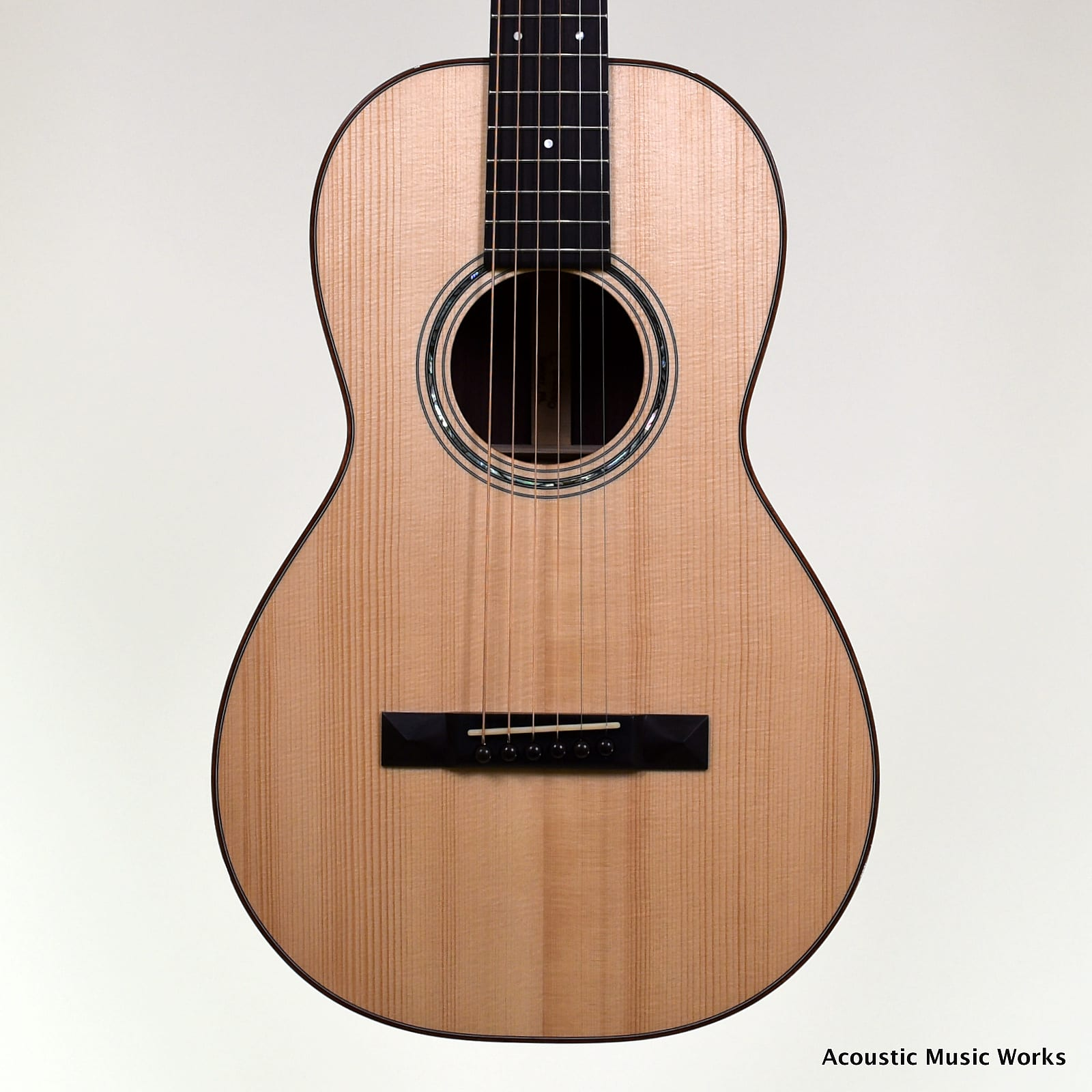 Baleno Size 2 Parlor, Adirondack Spruce, Indian Rosewood - VIDEO
