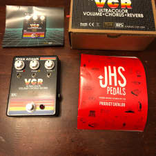 JHS Pedals Ryan Adams Signature VCR Effects Pedal with Original Box and Paperwork!