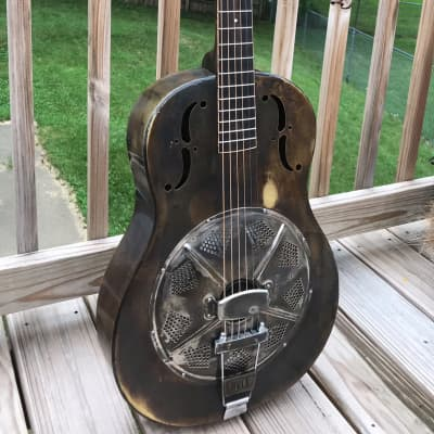 Mule Resonator 2014 number 52 Brass body with beautiful patina. for sale