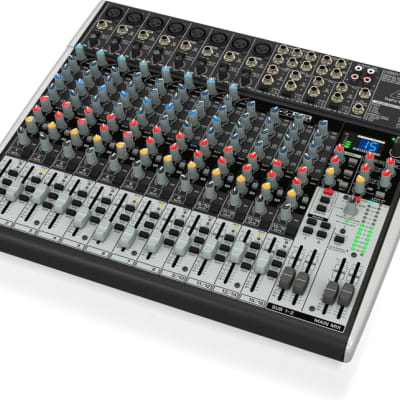 Premium 22-Input 2/2-Bus Mixer with XENYX Mic Prea