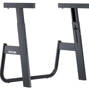 Quik-Lok M-91 The Monolith Single Tier Keyboard Stand