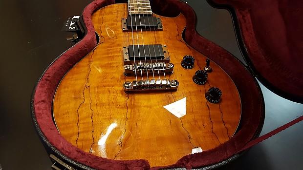 Ibanez ART420 Artcore Beautiful Spalted Maple Honey Amber Finish Incl NEW Kaces Hard Shell Case