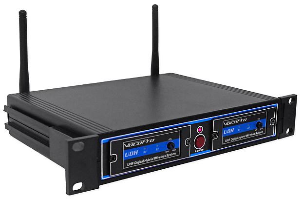 Vocopro UDH-PLAY-8 UHF/DSP Hybrid Wireless Microphone Lavalier  Headset+Beltpack