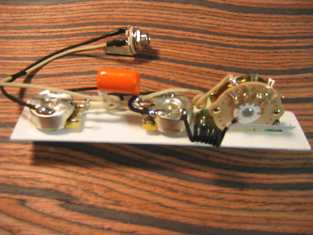K D Paulus Guitar Parts Wiring Harness For Telecaster  U2013 5