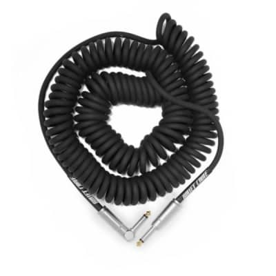 BULLET CABLE 30′ BLACK COIL CABLE for sale