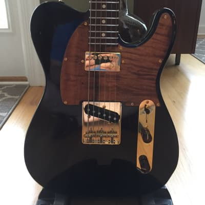 Suhr Classic T  Deluxe Limited Trans Black with Koa and Gold Accents