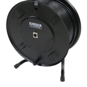 Elite Core Audio SUPERCAT6-200-REEL Converta-Shell Rugged Shielded Tactical CAT6 Cable - 200' Metal Reel