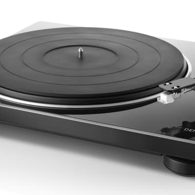 Denon DP400 Hi-Fi Turntable with Built-in Phono Equalizer and Speed Sensor