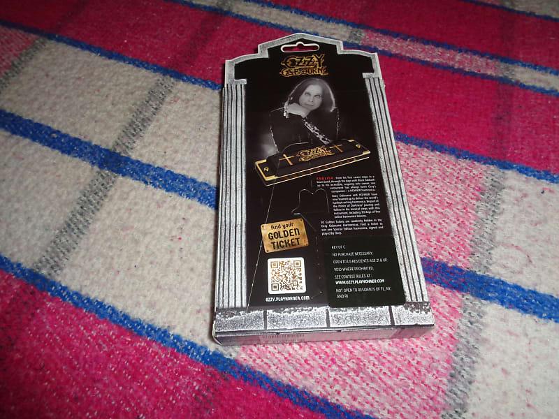 hohner m666 ozzy osbourne c harmonica w coffin case new reverb. Black Bedroom Furniture Sets. Home Design Ideas