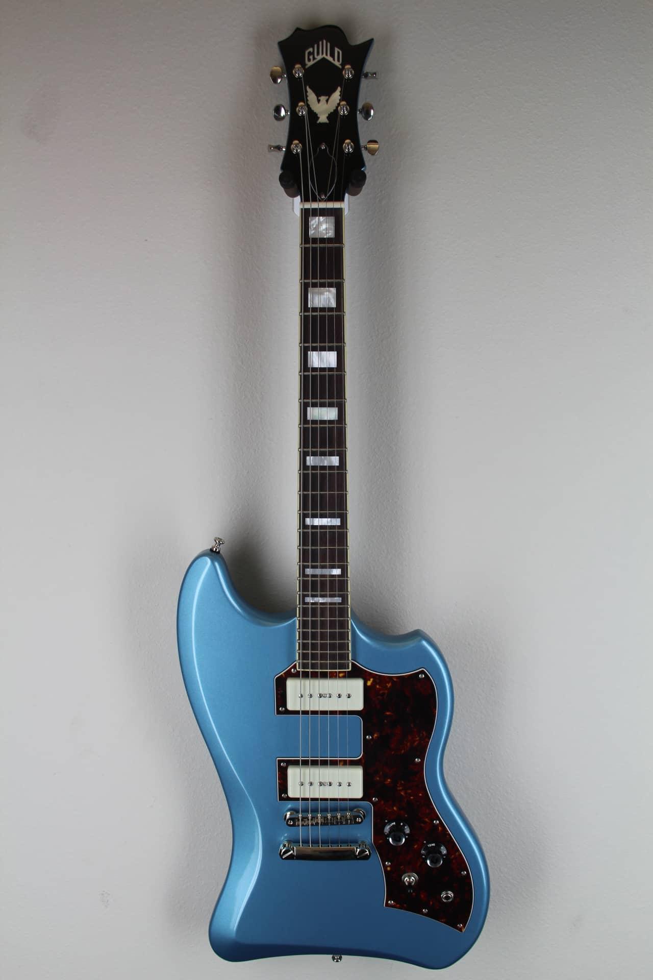 guild t bird st p90 solid body pelham blue electric guitar reverb. Black Bedroom Furniture Sets. Home Design Ideas