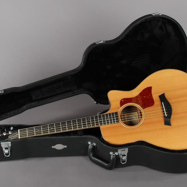2012 Taylor Baritone 8 FLTD/B Fall Limited Acoustic Electric Guitar image