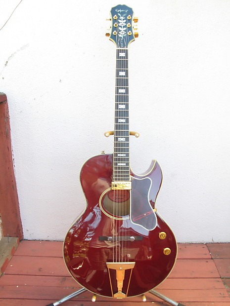Epiphone Howard Roberts Hr 1 1996 Wine Red Reverb