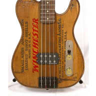Walla Walla Guitars Maverick Pro Vintage Wood Winchester Bass for sale