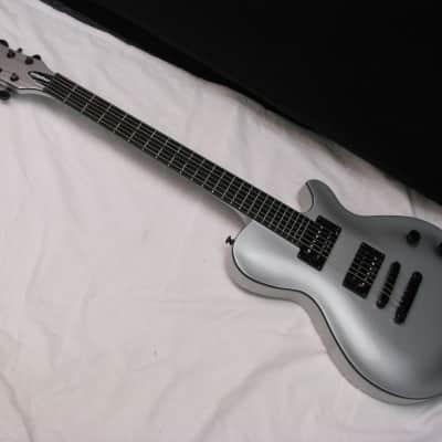 Michael Kelly Patriot Magnum electric guitar - Metallic Silver - 25