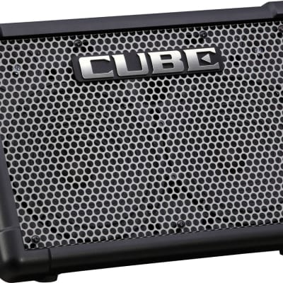 Roland CUBE Street EX 50-Watt Battery Powered Guitar and PA Stereo Combo Amplifier, 2-Channel (CUBE-ST-EX)