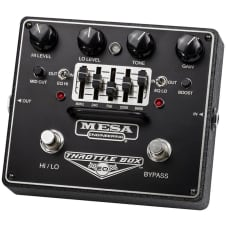 Mesa Boogie Throttle Box Distortion & EQ Pedal