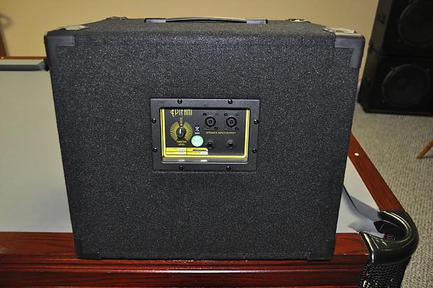 Epifani Ul 112 Series 2 Bass Guitar Speaker Cabinet W
